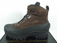 Itasca Ice Breaker Mens 10m Brown Suede Thermolite Snow Winter Duck Boots
