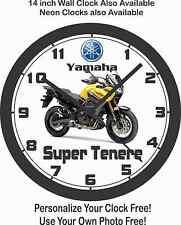 2016 YAMAHA SUPER TENERE MOTORCYCLE WALL CLOCK-FREE USA SHIP!