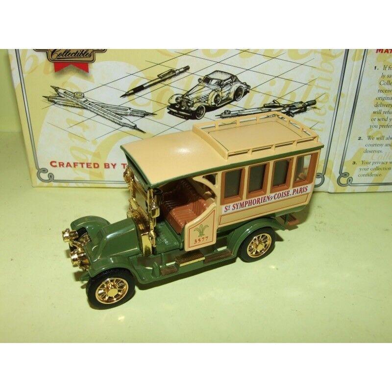RENAULT RENAULT RENAULT MOTOR BUS 1910 MATCHBOX YET06-M 1 43 3055d0