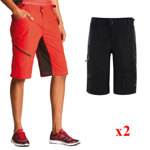 2 x Dare2b Adhere Men/'s Lightweight Running Cycle Short Red /& Black 38/""