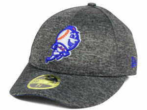 55afec26e7d NEW YORK METS MLB NEW ERA 59FIFTY MR. MET SHADOWED LOW PROFILE GRAY ...