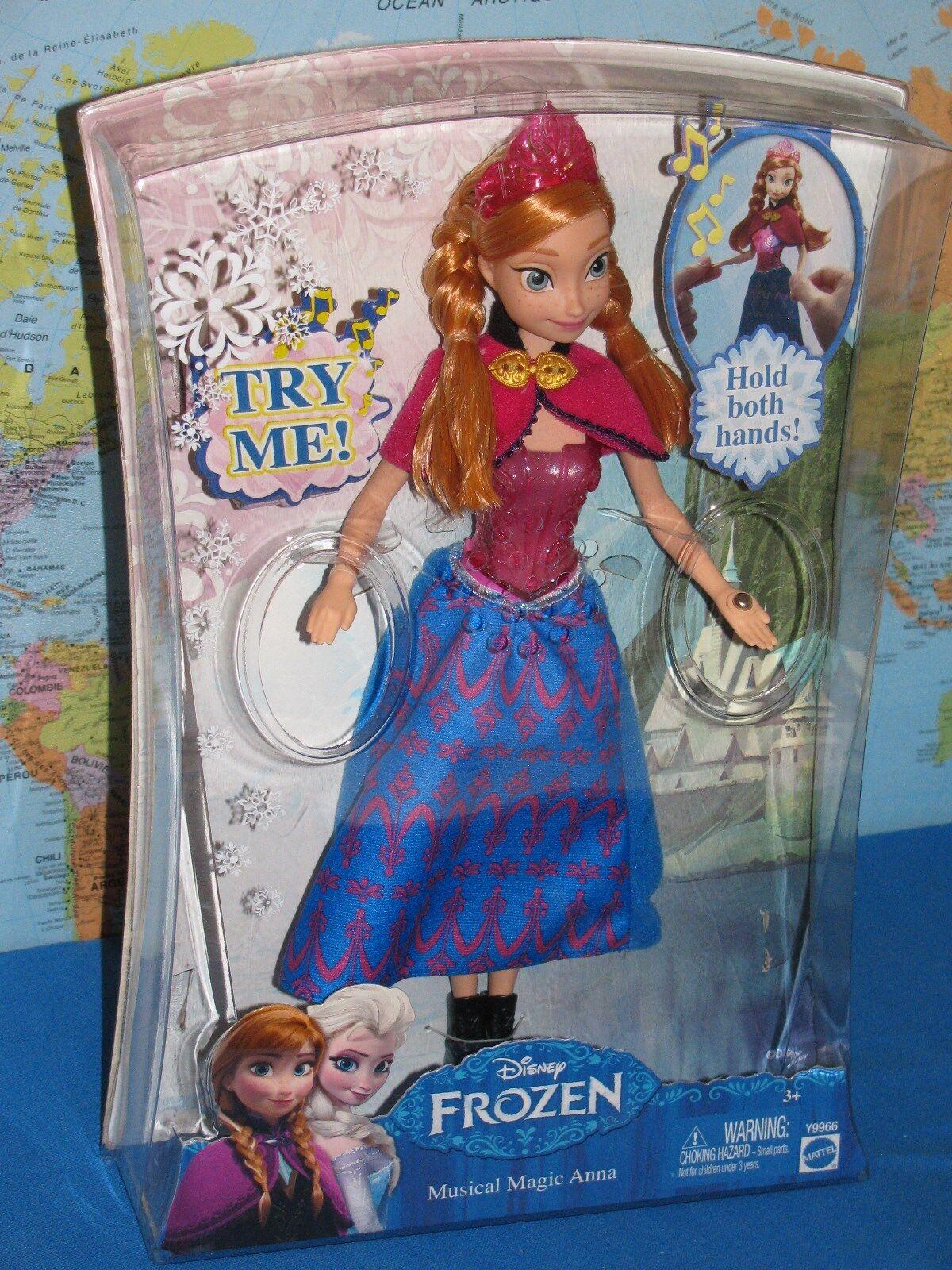 Disney Frozen Magie Princesse Musical Magie Frozen Anna Brillant Poupée Tout Nouveau & Rare 0976b9