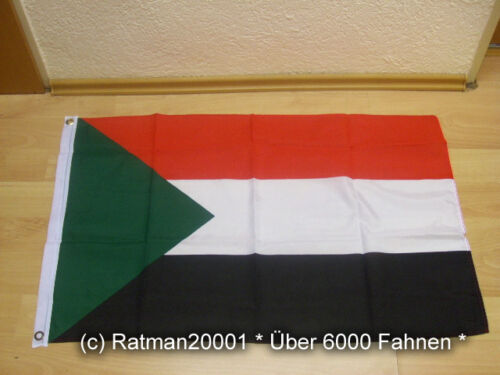 60 x 90 cm Fahnen Flagge Sudan