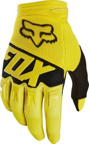 Men's FOX Racing Dirtpaw Race Gloves Motocross MTB ATV MX UTV BMX Off Road 9