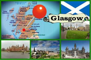 NEW LOCH LOMOND GIFT SCOTLAND SOUVENIR NOVELTY FRIDGE MAGNET
