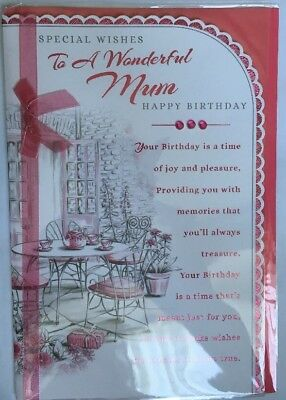 You/'re Very Special Happy Birthday Granddaughter Birthday Card Wordy//Versey