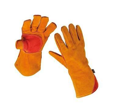 Premium Gold Welders / Welding gloves gauntlets