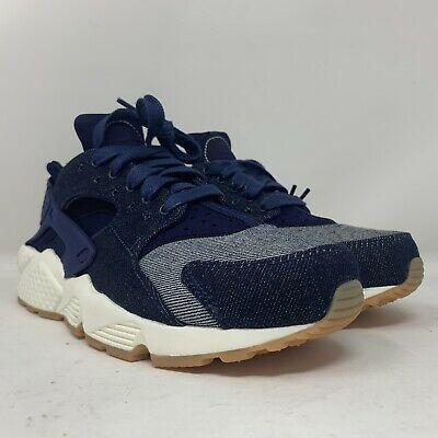 NEW Nike Air Huarache Run SE Binary Blue Denim Women's Size 6.5 Men's Sz 5   eBay