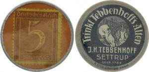 Germany Briefmarkenkapselgeld 5 Pfennig Xf-Bu 51772