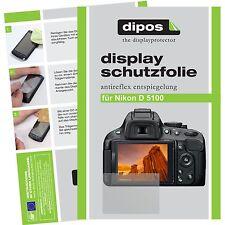 6x dipos Nikon D5100 Film de protection d'écran protecteur antireflet