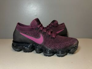 65f2aa506f NIKE AIR VAPORMAX FLYKNIT TEA BERRY BORDEAUX 849557 605 WOMENS SIZE ...