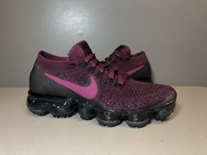 81062ac4bc NIKE AIR VAPORMAX FLYKNIT TEA BERRY BORDEAUX 849557 605 WOMENS SIZE ...