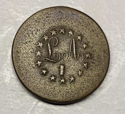 Civil War (1861-65) Careful Light Artillery 1808-1821 Coat Button Buttons