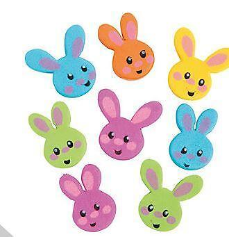 500 Easter Egg Foam Sticker Shapes For Kids CraftsChildrens Spring Crafts