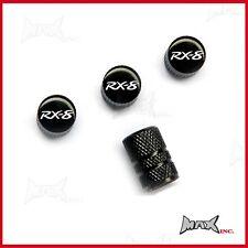 MAZDA RX8 - Set Of 4 Lasered Logo Aluminium Tire Valve Caps