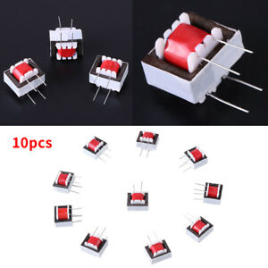 10x-Audio-Transformer-600-600-Europe-1-1-Ei14-Isolation-Transformer-Ringing-OB