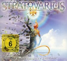STRATOVARIUS - ELEMENTS PT.1 & 2 (LIMITED EXPANDED EDITION) 3 CD + DVD NEU