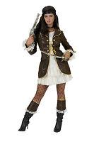 Piratin Pirat 2-tlg. sexy Damen Kostüm Fasching Karneval Straßenfasching NEU