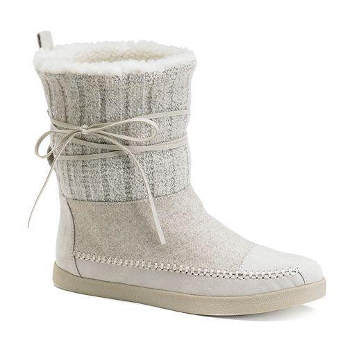 New NIB Madden Girl Jackmen Women's Boots Size 5.5 Light Gray 5 1/2