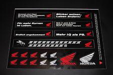 Honda Aufleber Sticker Decal Logo Schriftzug Bapperl Autocollant Spruch Zeichen