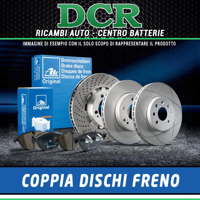Par de Discos de Freno ATE 424158 Renault Laguna De 11.93