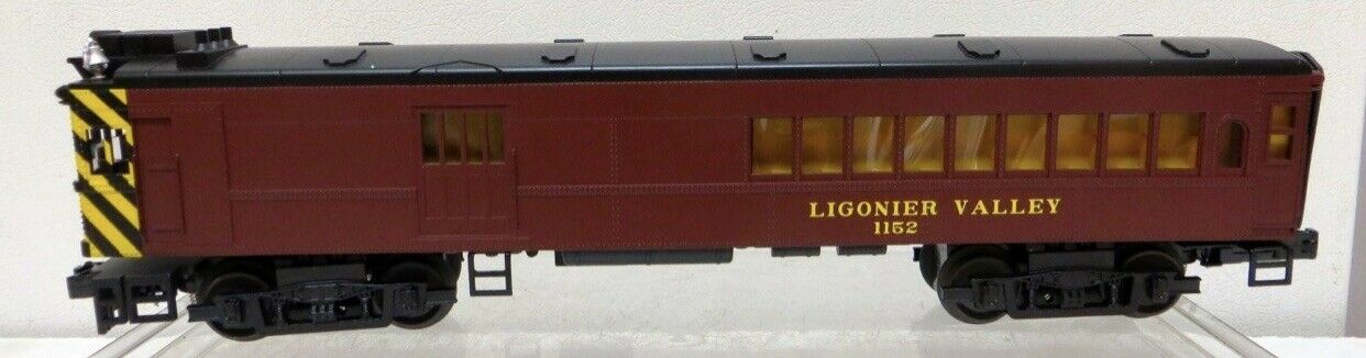 MTH Railking Ligonier Valle Doodlebug Diesel projoosound 2.0 LN Caja PS2