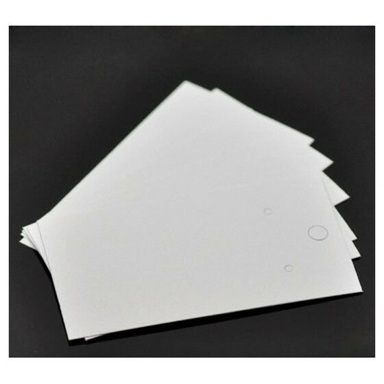 100PCs White Earrings Jewelry Display Cards 9x5cm W4H5