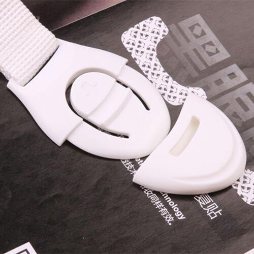10pcs Schrankschloss Kindersicherung Schutz für Schrank Schublade Türe