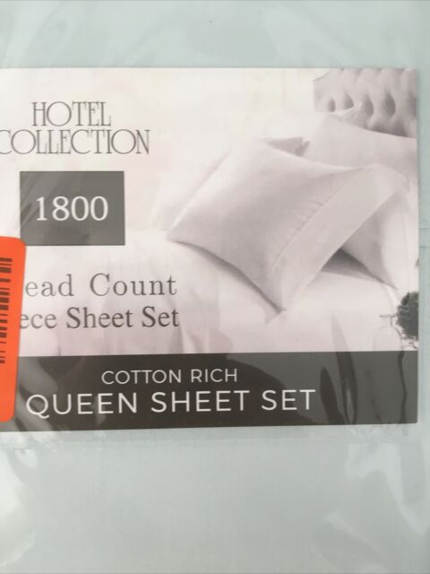 Italian Hotel Collection 1000 Thread, 1000 Thread Count Cotton Queen Bed Sheets