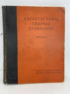 Architectual Graphic Standards by Ramsey & Sleeper 3rd Edition 1944 Hardcover