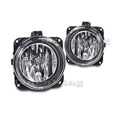 FD214 Fog Lights Bumper Lamps Pair Clear For 05-06 Ford Escape / 00-05 Focus SVT