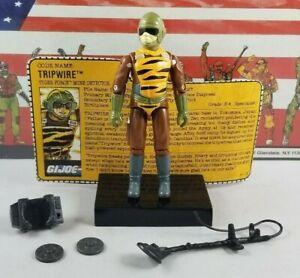 Original-1988-GI-JOE-TRIPWIRE-Tiger-Force-V3-ARAH-not-Complete-UNBROKEN-figure