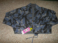 Zumba Fitness Womens Once Around The Track Jacket Reversible Sz Small