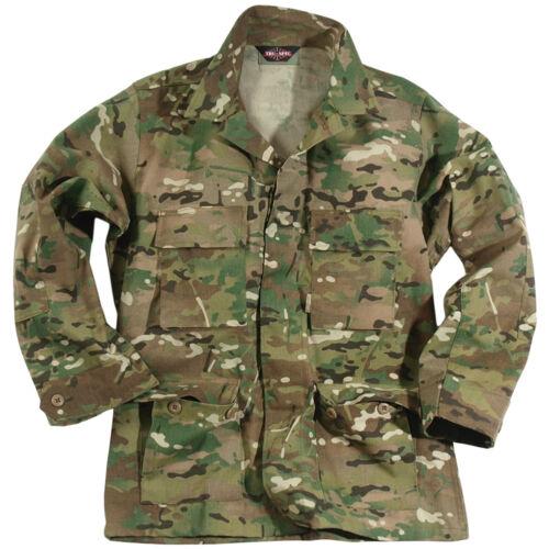 TRU-SPEC MILITARY TACTICAL US BDU ARMY COMBAT MENS SHIRT GENUINE MULTICAM CAMO