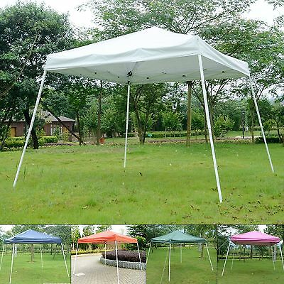 8'x8?Pop Up Wedding Party Tent Folding Gazebo Sun Shade Canopy Outdoor Shelter