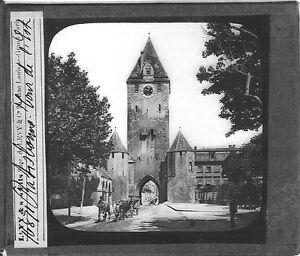 Das-Ostentor-in-Regensburg-la-Torre-di-Regensburg-Foto-Fotografia-C-1900