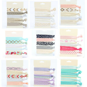 Fashion-Women-Knotted-Hair-Tie-Ponytail-Holder-Bracelets-Hair-Rope-Accessories