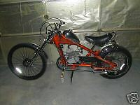 Schwinn OCC Chopper Bicycle Motor Mount and free chain adjusters not the bicycle