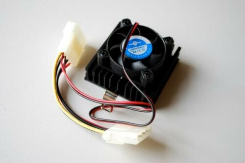 NEW Vantec 1-0507 Ball Bearing Fan CPU Cooler Lot of 5