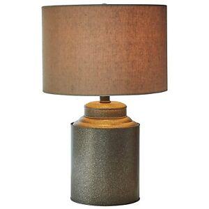 Table Lamp Farmhouse Style Decor Reading Light Bedroom Bedside