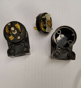 Cooper-Industries-Arrow-Hart-NEMA-ML3-P-Midget-Right-Angle-Plug-NEW-ML3P-ML-3P