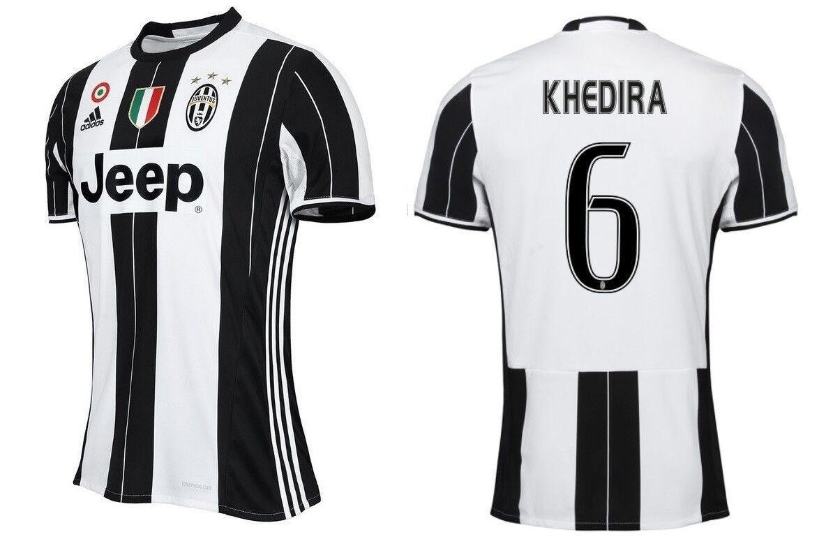 Trikot Adidas Juventus Turin 2016-2017 Home Home Home - Khedira  Coppa Scudetto  | Vorzügliche Verarbeitung  635f36
