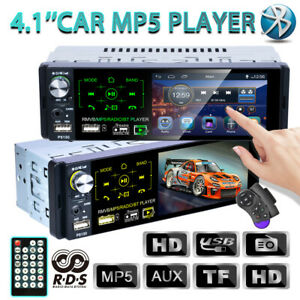 1-DIN-4-1-034-Inch-RDS-Car-Stereo-Radio-Touch-Screen-MP5-Player-AM-FM-BT-USB-TF-AUX