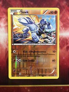 Sawk 52//101 Plasma Blast Reverse Holo Mint Pokemon Card