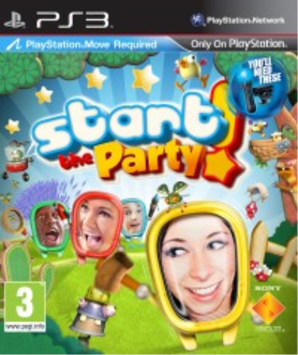 PS3-Start The Party - Move /PS3 GAME NEUF