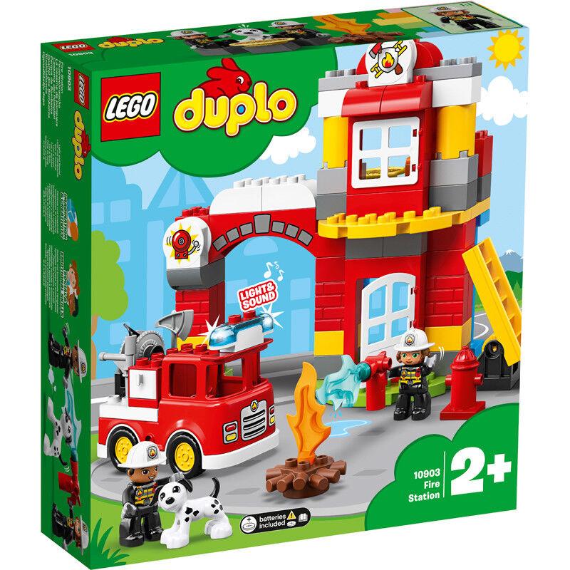 Lego Duplo Fire Station Building Set 10903