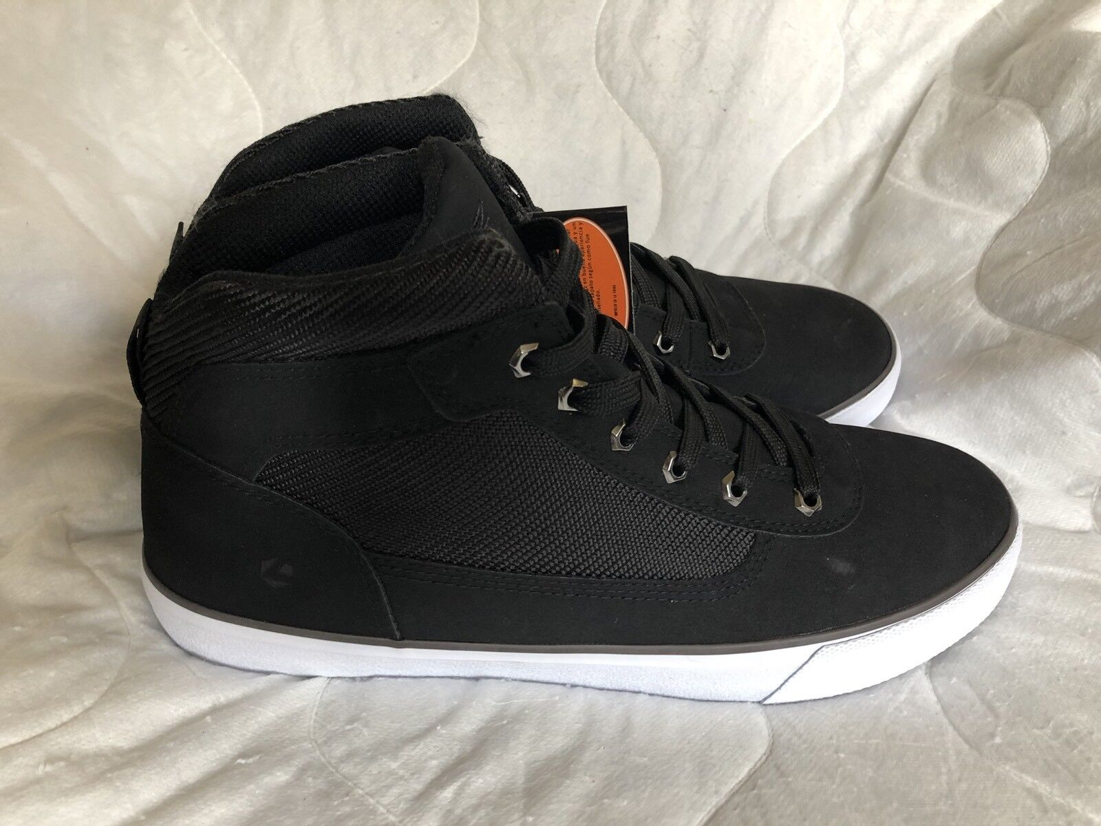 Lugz Canyon Sneakers 11 Height Boosting Chaussures Leather Sneaker Memory Flam