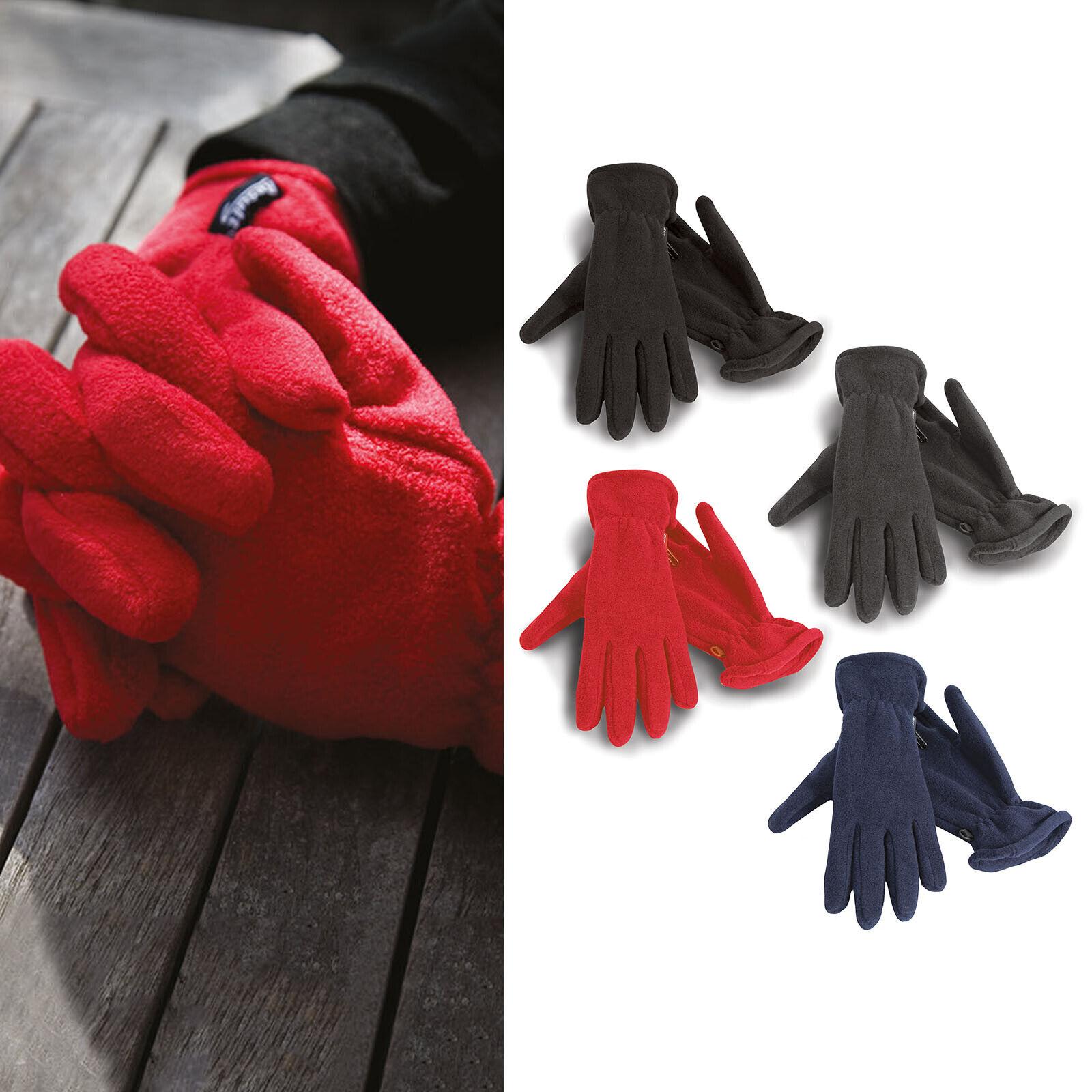 Result Winter Essentials Unisex Polartherm Gloves (R144X) - Wooly Winterwear