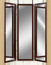Item 1 Over The Door Mirror Dressing Room Tri Fold Mirrors Hanging 3 Panel  Full Length  Over The Door Mirror Dressing Room Tri Fold Mirrors Hanging 3  Panel ...