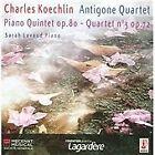 Charles Koechlin - Koechlin: Piano Quintet, Op. 80; Quartet No. 3, Op. 72 (2013)